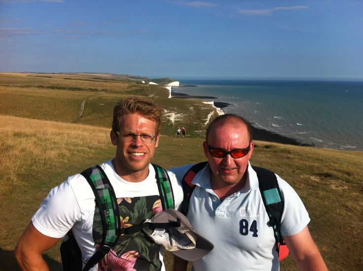 A #beautiful hike across the #southdowns with Blind Veterans UK.