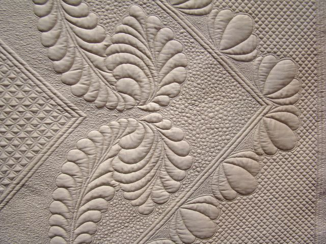 107 best Whole Cloth Quilts images on Pinterest   Lace, Colors and ... : whole cloth quilt stencils - Adamdwight.com