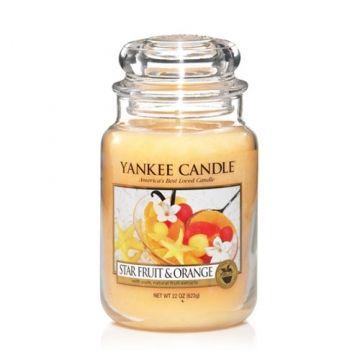 Star Fruit & Orange : Large Jar Candle : Yankee Candle