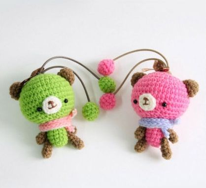 Amigurumi Doughnut Pattern : 17 Best images about Crochet Bears on Pinterest Free ...