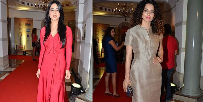 Kangna Ranaut, Mahie Gill attend Times Foodie Awards
