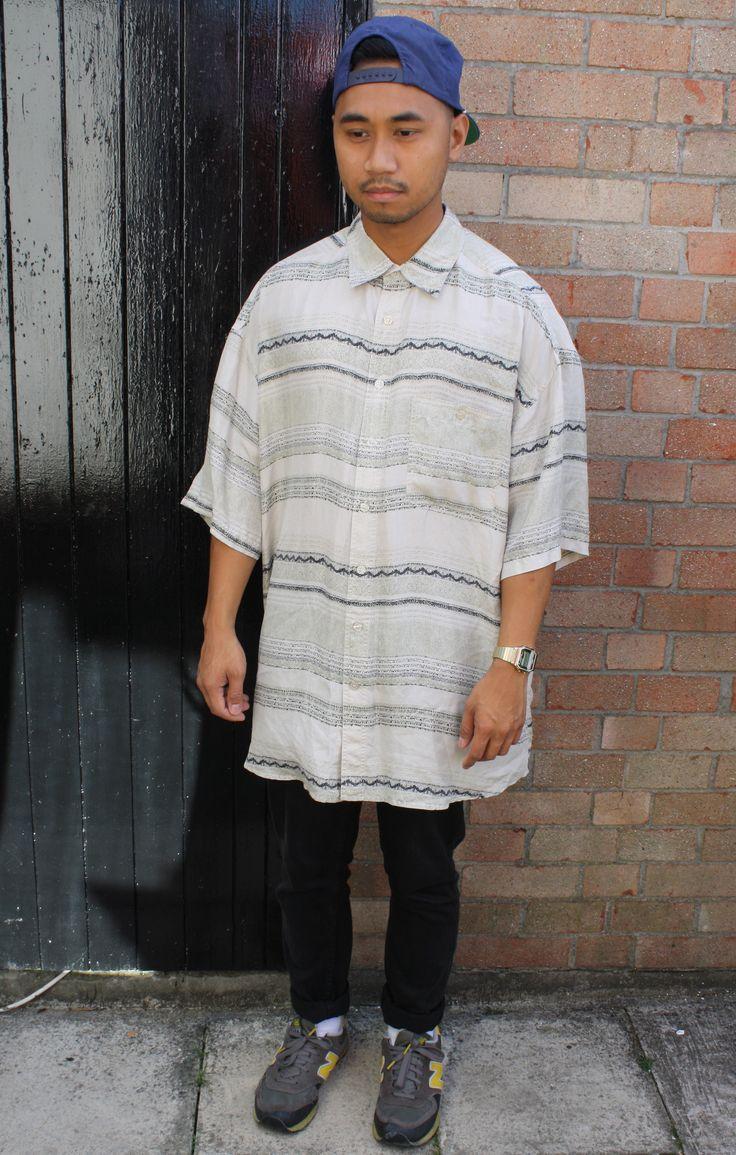 Oversized Short Sleeve Shirt