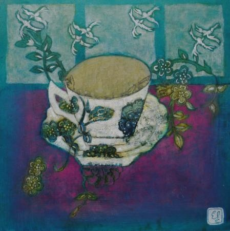 emma forrester - Tea cups all of hues