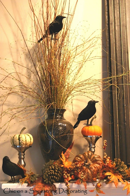 halloween mantel - Halloween Mantle