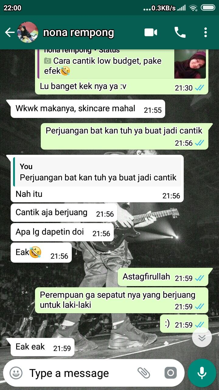 Quotes Kata Kata Bucin Berjuang Screenshot Chat Indonesia