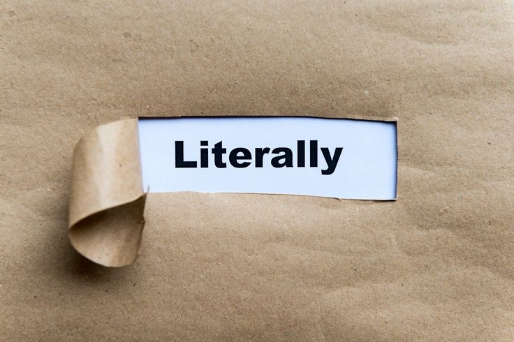 Figurative 'literally' in the OED | OxfordWords blog