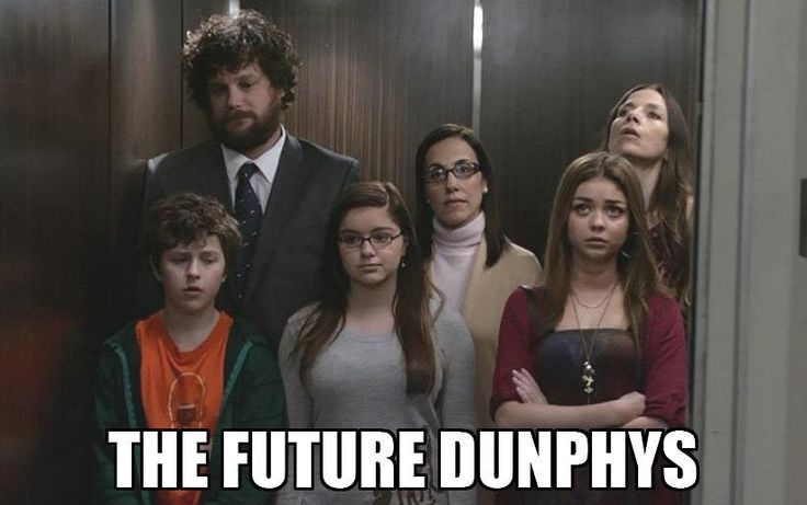 The Future Dunphys ~ Modern Family Quotes #amusementphile