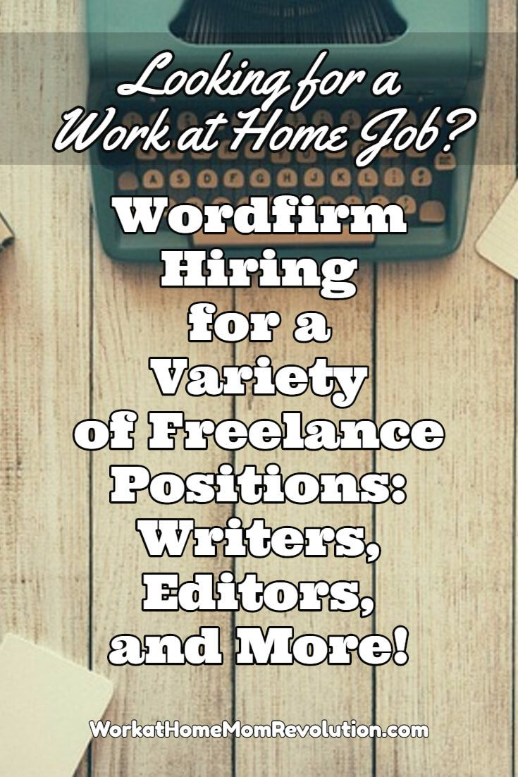 17 best images about work from home work from home wordfirm is seeking lance writers editors graphic designers and indexers these are independent contractor positions awesome work at home