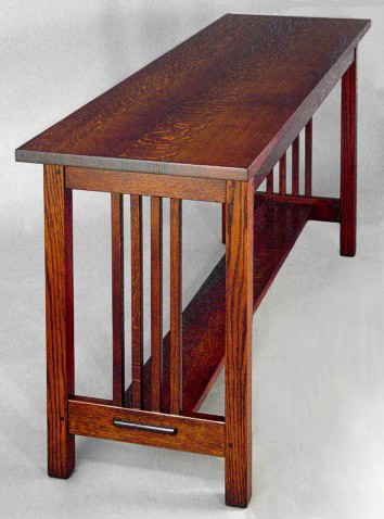 Mission Spindle Sofa Table: All Of These Folksu0027 Work Is Gorgeous. I Can
