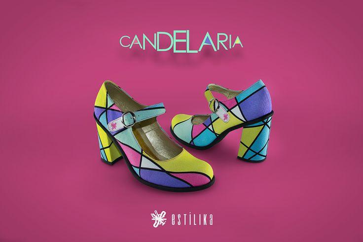 Te gustan nuestros zapatos de tacón Estilika Candelaria?, ahora puedes visitarnos en nuestro sitio https://www.facebook.com/estilika/   Estílika #mujer #tendencia #moda #zapatos #diseñoindependiente #talentocolombiano