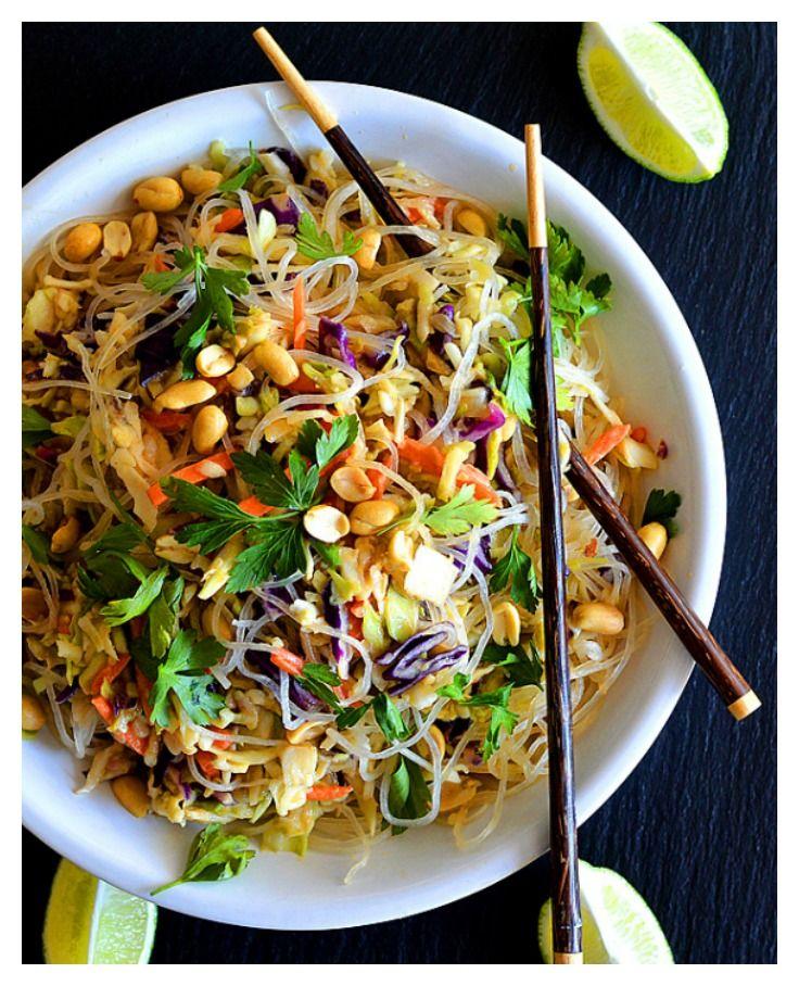 Easy Vegan Thai Cabbage Salad by The Veg Life!