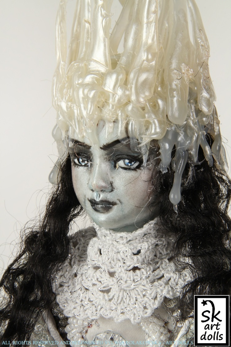 The White Witch of Narnia - an original art doll by sinestro (SK ART DOLLS).