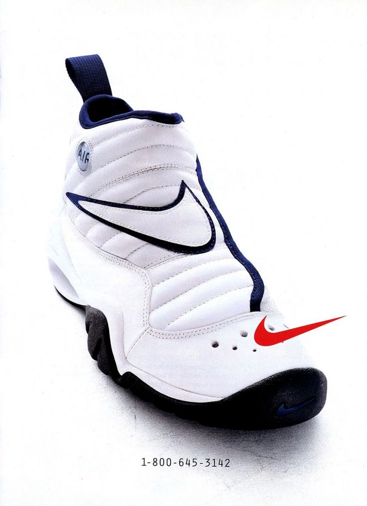 Nike Vintage Ad: Air Shake Ndestrukt, worn by Dennis Rodman