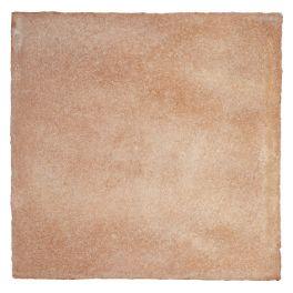 Rosé Façonnée à la main, la gamme Patiné Main se caractérise par des nuances naturelles sable/rosé, rouge/rosé et marron sienne   Dimensions : 20x20x2, 30x30x2, 20x40x2, 16x16x1.8, 13x13x1,7 cm