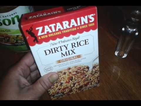 CoolWow Zatarain's Dirty Rice Recipe without the ground be #photo #image #food #cook