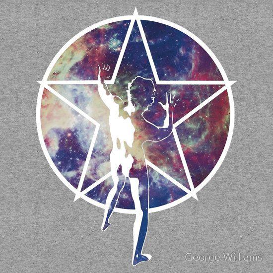 Rush Wallpaper: Rush Starman & Nebular Design