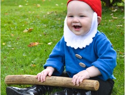 Quick and Easy Halloween Costume: Garden Gnome
