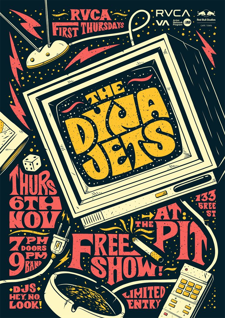 As a quick break from all the Halloween madness - here's a poster I made last week for the Dyna Jets!