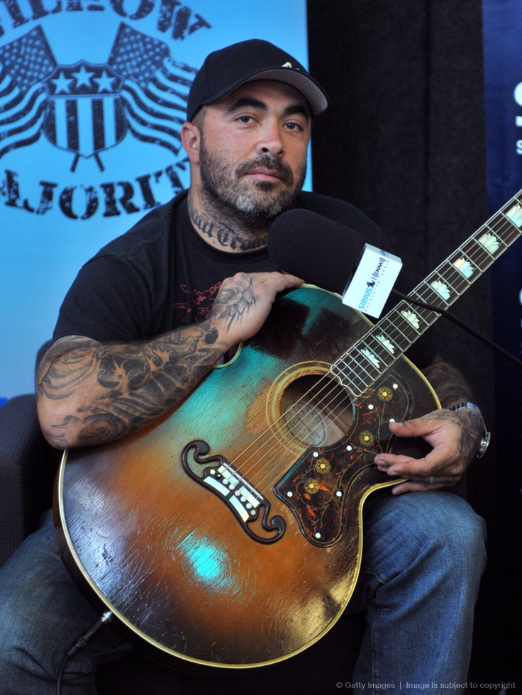 Aaron Lewis of Staind: his voice is heavenly and rare.