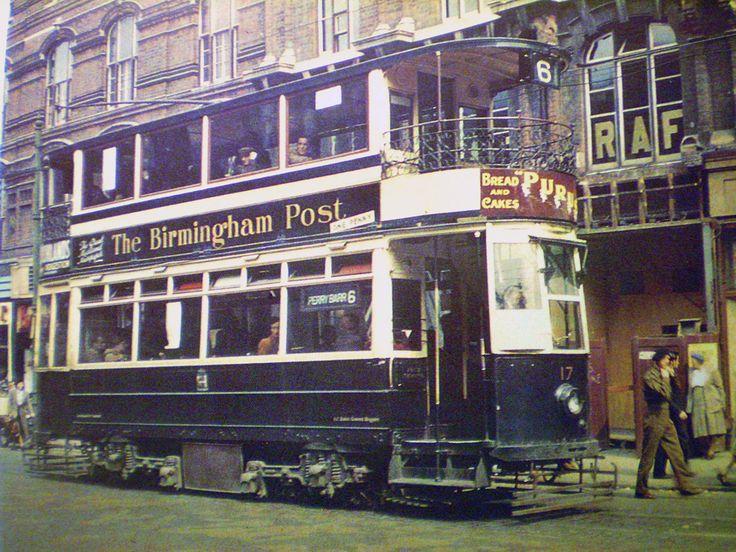 28 best Birmingham City Transport Trams In Colour images on Pinterest