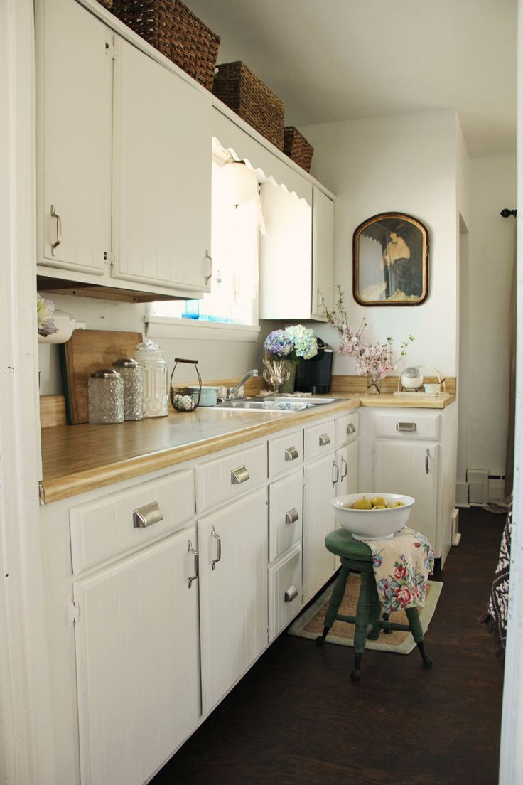 Creamy White Cabinets | Behr Swiss Coffee White Painted Kitchen Cabinets |  Involving Color