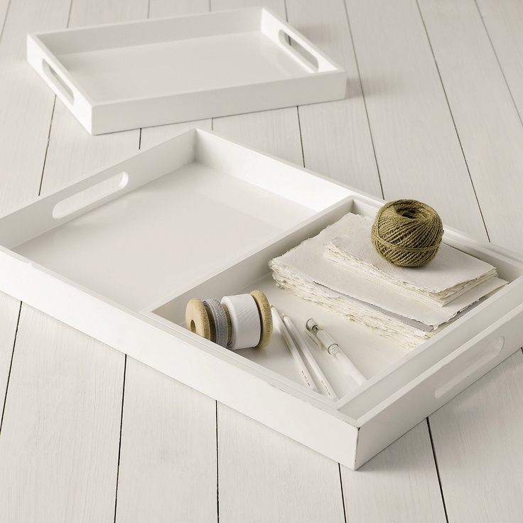 White Decorative Tray Captivating 250 Best Products I Love Home Images On Pinterest  Living Room Design Ideas