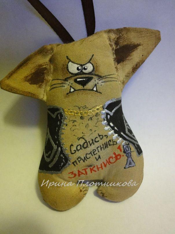 Ручная одежда Кофейный кот в авто. vk.com/club86184763