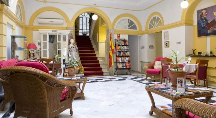Hotel Las Cortes De Cádiz Cádiz Housed in an elegant 19th-century building, this hotel is in Cádiz's old town, just 3 minutes' walk from the port. It features a roof terrace, fitness centre, and free Wi-Fi.