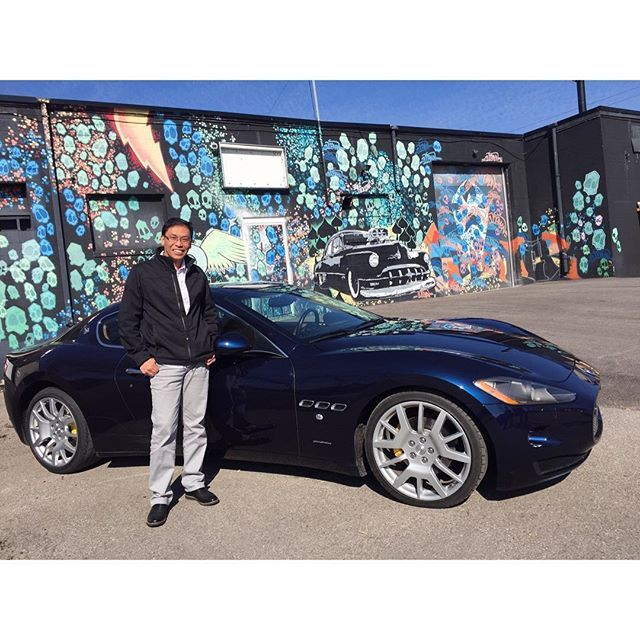 SOLD! First time client of  #vehicledirect David just picked up his 2008 Maserati GranTurismo, Congrats!!