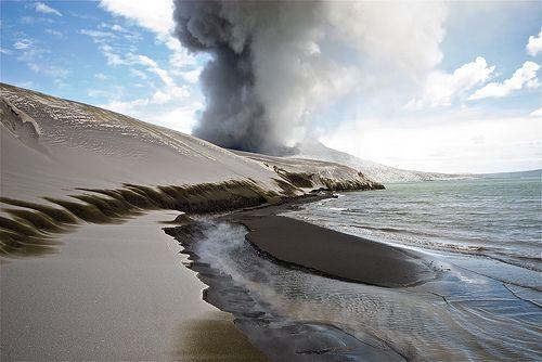 Volcanic Ash Dunes