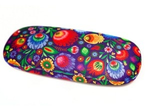 spectacle case with Polish folk ornament... :)