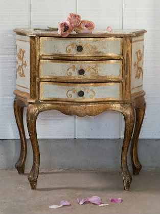Vintage Chic ♥ Florentine Side Table