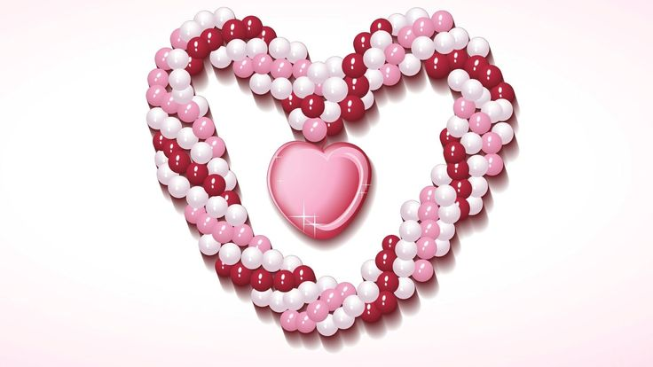 Heart Shape Wallpaper, 42 Heart Shape HD Wallpapers/Backgrounds ...