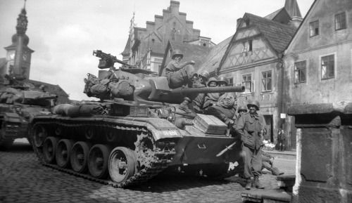 M24 Chaffee tank of 9th Armored Division