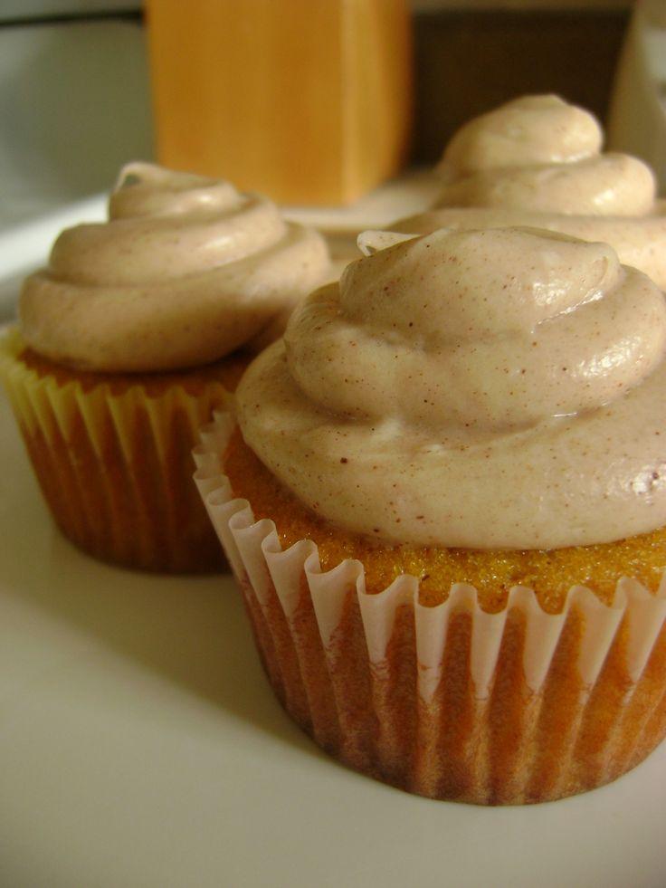 Pumpkin Spice Cupcakes | The Great Pumpkin | Pinterest