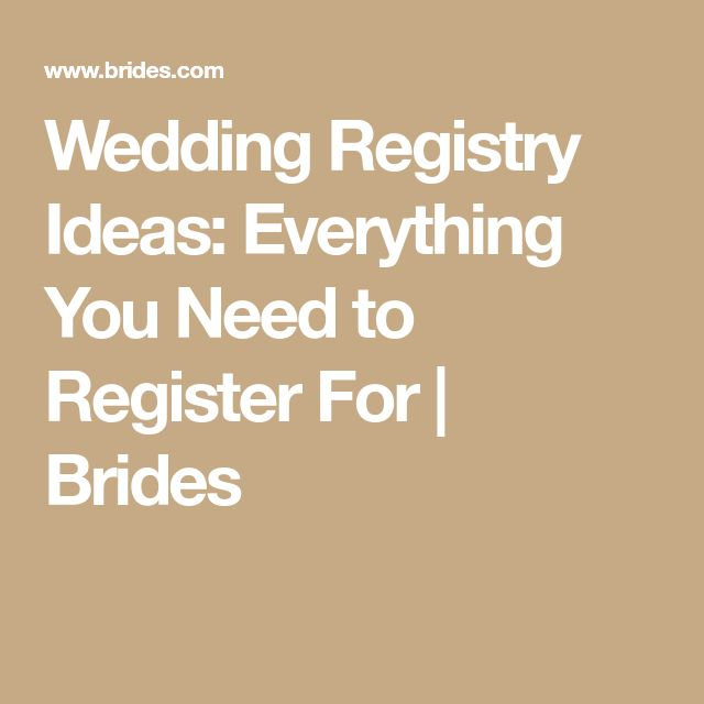 The 25+ best Wedding registry checklist ideas on Pinterest - wedding list