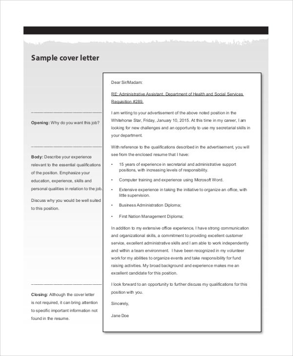 Cover Letter Layout Example The 25 Best Resume Cover Letter Examples Ideas  On Pinterest  Cover Letter Layout