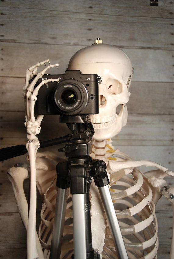 Men DudeSkeleton PhotoCamera Fine Art Photography 20