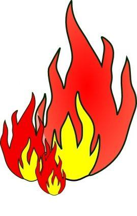 Bildergebnis für brennendes haus clipart