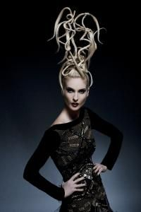 Avant Garde Hair: Created By Brian & Sandra Smith of Matrix. Outstanding Talent & 2 of the nicest people I have ever met. They are Genuine.