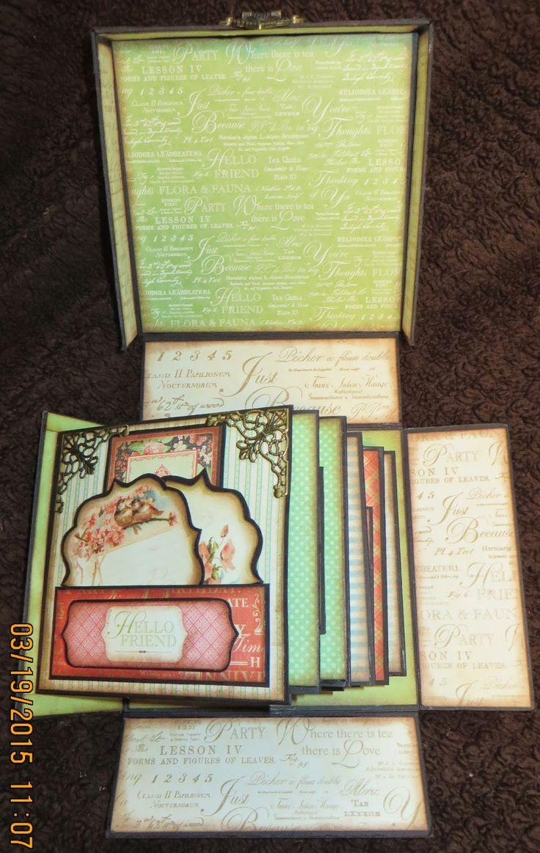 Moshie's Moments  Graphic 45 box mini album