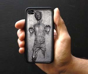 Han Solo Frozen in carbonite iphone case $15.99
