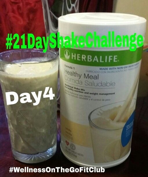 34 best 21 Day Herbalife Shake Challenge images on Pinterest