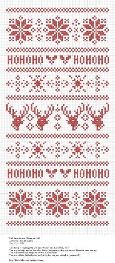 Seasonal Band Sampler | Free Cross Stitch Pattern