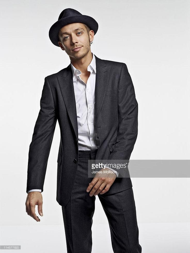 Motorcycle racer Valentino Rossi is photographed for GQ magazine on September 10, 2010 in Milan, Italy.