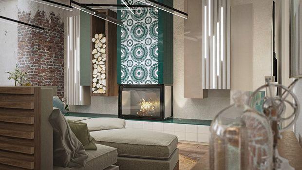 Что получится, если в одном пространстве соединить старинный петербургский кирпич, традиционные узбекские ткани, современную дизайнерскую мебель и аксессуары с острова Бали? Смотрим, комментируем