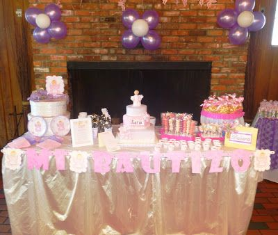 Christening / Baptism Main Table