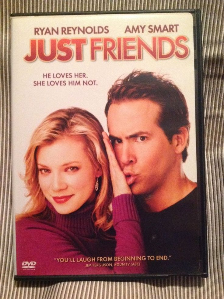 """""""Just friends"""" DVD 2006 with Ryan Reynolds and Amy Smart"""