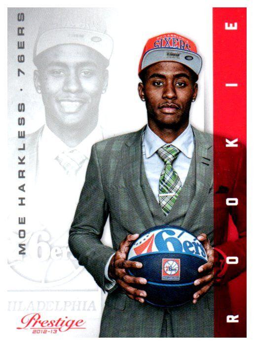 2012-13 Prestige Moe Harkless Rookie Card Philadelphia 76ers