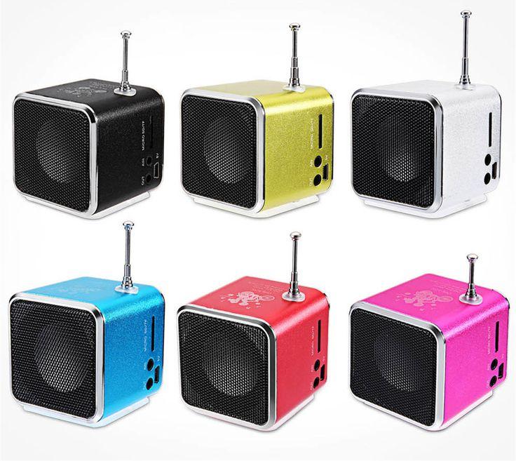 Новинка; Лидер продаж TD V26 Портативный мини Динамик Портативный радиоприемник с цифровой и Micro SD/TF/USB/FM Радио купить на AliExpress